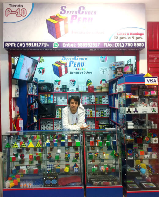 Tienda cubos mágicos Rubik Lima Perú
