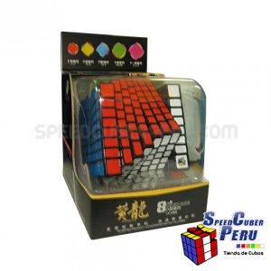 YuXin Huanglong 8x8x8 Negro