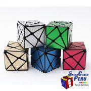 Z-Cube Axis Cubo con stickers texturizados