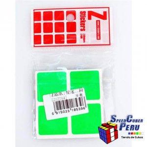 Z-Stickers 2x2 WitTwo (Half Bright)