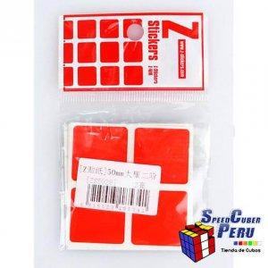 Z-Stickers 2x2 Dayan 50mm (Full Bright)