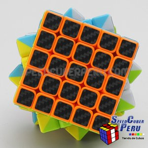 Z-Cube 5x5x5 with black carbon-fibre stickers