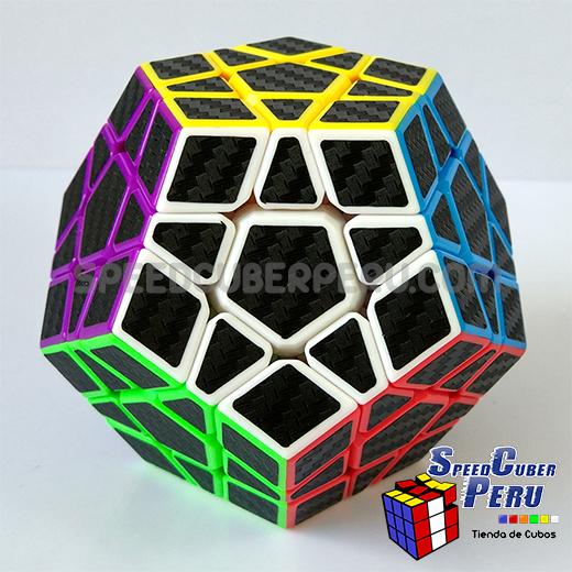 Z-Cube Megaminx Cube Carbon fibre stickers