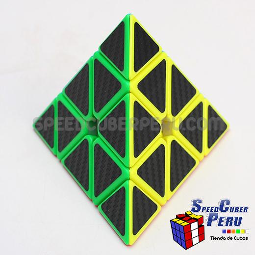 Z-Cube Pyraminx Cube Carbon fibre stickers