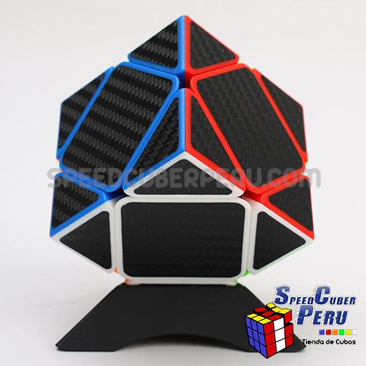 Z-Cube Skewb Cube Carbon fibre stickers