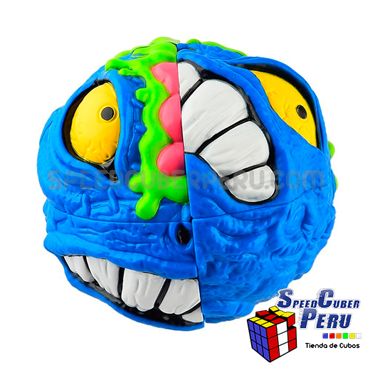 MAD HEDZ Crazy Breath 68mm 2x2x2 Puzzle Head Cartoon