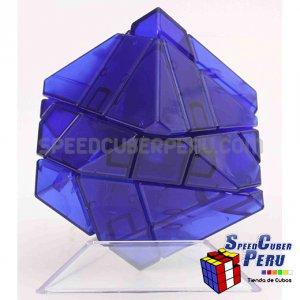 Ninja 3x3 Ghost Cube Transparente Azul