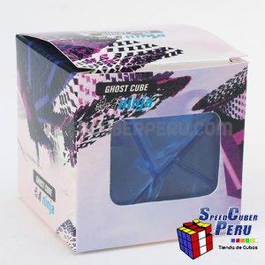 Ninja 3x3 Ghost Cube Transparente Celeste