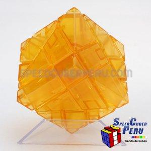Ninja 3x3 Ghost Cube Transparente Naranja