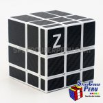 Z-Cube Mirror with carbon-fibre stickers