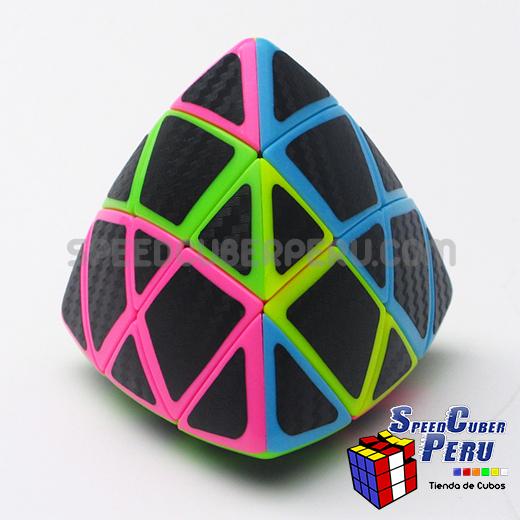 Z Mastermorphix Cube Carbon Fibre stickers