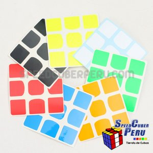 Z-Stickers para Valk 3x3 Z-Bright
