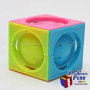 Funs 3x3x3 centro esfera deformable