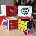 Taza Rubik porta lapiceros para escritorio