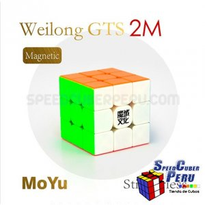 MoYu 3x3x3 Weilong GTS V2 M Magnético