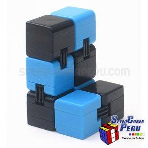 Infinity Cube color celeste con negro