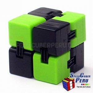 Infinity Cube color verde con negro