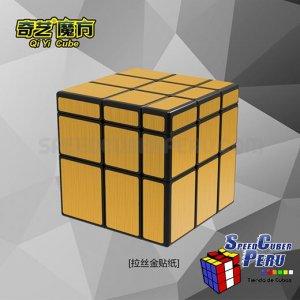 Qiyi 3x3 Mirror con stickers