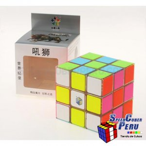 Cubo de 3x3 YuXin RoarLion de 88.5 mm transparente