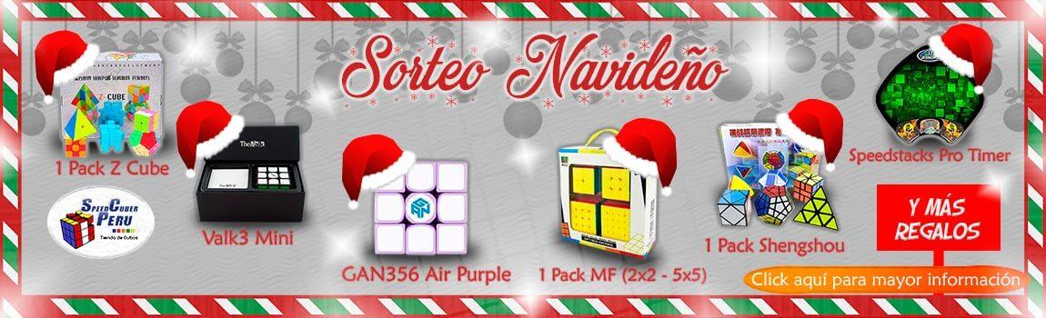 Sorteo cubo magico rubik Lima Perú navidad 2017