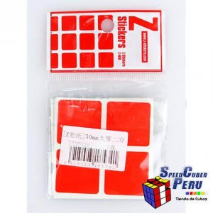 Z-Stickers 2x2 Dayan 50mm (Full Bright)