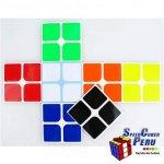 Z-Stickers 2x2 Dayan 50mm (Half Bright)