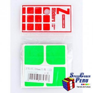 Z-Stickers 2x2 Dayan 50mm (Half Bright)