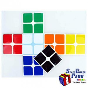 Z-Stickers 2x2 Dayan 50mm (Standar)