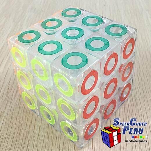 MoFangJiaoShi-3×3-Crystal-Ring-2