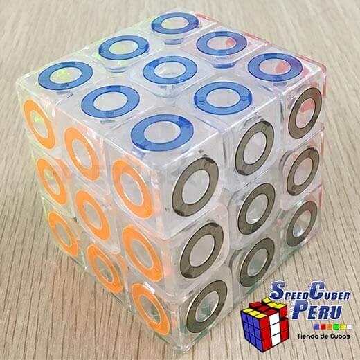MoFangJiaoShi-3×3-Crystal-Ring-3
