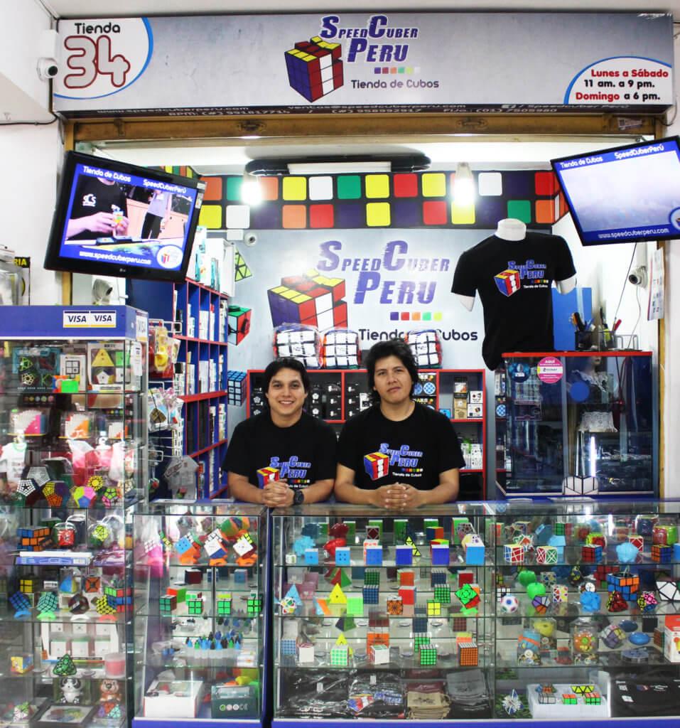 Tienda de cubo mágico Rubik Lima Perú