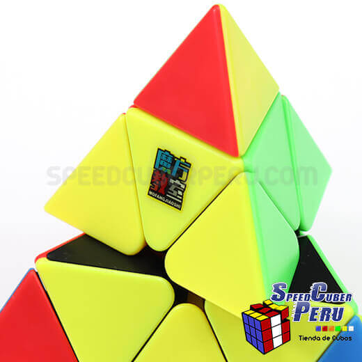 moyu-meilong-pyraminx-cube-stickerless