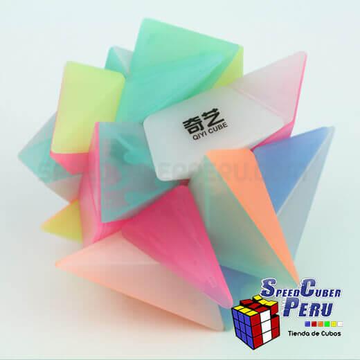 QiYi-3×3-Axis-Cube-transparente-3
