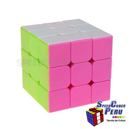 YJ-Guanlong-3x3x3-V3-Stickerless-Pink