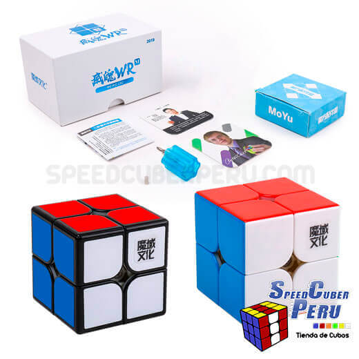 MoYu-WeiPo-WR-2x2x2-Cube-Negro-2
